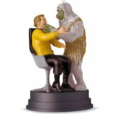 Star Trek Christmas ornaments just keep getting weirder     - CNET  Enlarge Image  Happy holidays from a salt vampire to your family.                                              Hallmark                                          If you thought radiation-poisoned Spock was the pinnacle of weird Star Trek-themed Hallmark Christmas ornaments then you didnt expect the company to choose a salt-vampire attack on Captain Kirk as the star of its 2016 offerings. Yes Christmas is months away but…