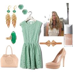 Minty Nude, created by jo-paperdrama.polyvore.com
