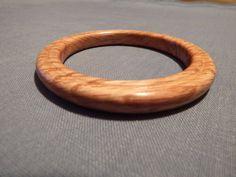 Oak Wooden Bracelet by MikesWoodWorx on Etsy, $20.00