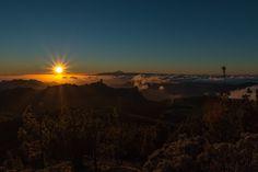 Puesta de sol Cumbre de Gran Canaria - null