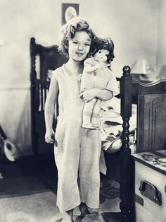 Shirley Temple in Bright Eyes, 1934.