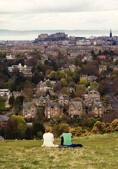Climb Blackford Hill - Edinburgh