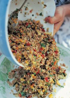 farro salad with roasted veg (insalata di farro con verdure al forno)   Jamie Oliver   Food   Jamie Oliver (UK)