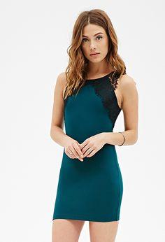 Eyelash Lace Bodycon Dress | Forever 21 Canada