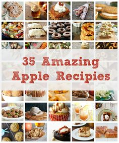 35 Apple Recipes for Fall
