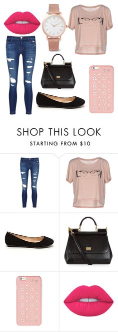 """""""verano"""" by paola-valentina-rivas on Polyvore featuring moda, J Brand, ONLY, Dolce&Gabbana, MICHAEL Michael Kors, Lime Crime y Larsson & Jennings"""
