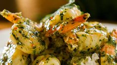 Garlic Prawns in a Cream Sauce – Easy Meals with Video Recipes by Chef Joel Mielle – RECIPE30