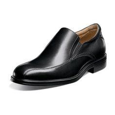 400184aac2a Florsheims Network Bike - Black Dress Loafers for Men