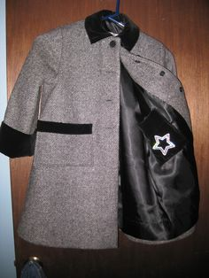 """Granddaughter's Winter coat from 1960"""" pattern"""