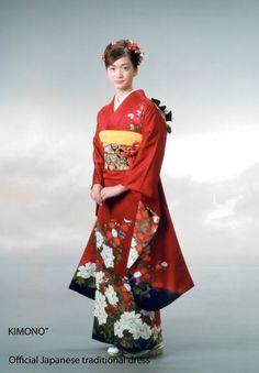 Japanese Kimono Dress | is a traditional Japanese outfit called kimono. In general, a kimono ...