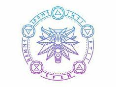 Tattoo design - The Witcher