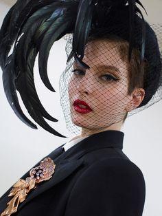 Dolce and Gabbana Fall 2019 Backstage. Fashion Week, Daily Fashion, Fashion Show, Womens Fashion, Milan Fashion, Style Fashion, Fashion Trends, Face Earrings, Dolce E Gabbana