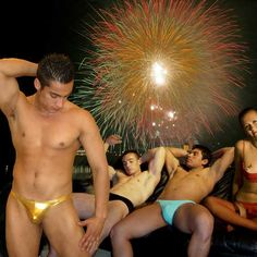 New Year's party 2006 in Ergowear colors
