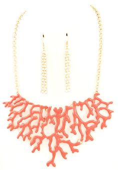 Arielle - Coral Necklace from THE LUCKY KNOT