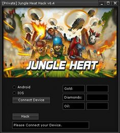 Our Jungle Heat Hack is updated weekley and is used by over 30.000 Players!  Using our Jungle Heat Hack you will be able to Get Gold, Diamonds or Oil in few seconds, Totally for Free!  Get Here: http://jungleheat.best-cheatz.com/