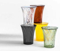#Kartell Sparkle stools by Tokujin Yoshioka
