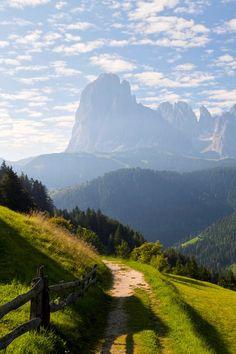 Sassolungo in morning lights ~ South Tyrol, Italy RangeDolomites  byBéla Török