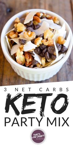 Low Carb Party Mix with just Perfect combination of something sweet to snack on while hanging out with friends this week. Low Carb Party Mix with just Perfect combination of something sweet to snack on while hanging out with friends this week. Keto Foods, Ketogenic Recipes, Keto Snacks, Ketogenic Diet, Keto Sweet Snacks, Gourmet Recipes, Diet Recipes, Healthy Recipes, Snack Recipes