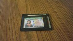 Kinzd Secure Men's Slim Wallet With RFID Blocker