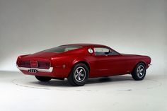 1967 - Ford Mustang Mach 1 Concept