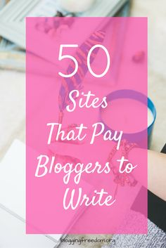 Get paid hundreds of dollars writing in your spare time! Check out this amazing list of sites to get started.