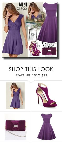 """set 123"" by fahirade ❤ liked on Polyvore featuring Venus, Arche, Jennifer Lopez, Jimmy Choo and Ben's Garden"