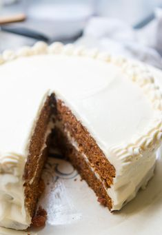 Carrot Cake with Cream Cheese Frosting Cream Cheese Recipes, Cake With Cream Cheese, Cream Cheese Frosting, All You Need Is, Classic Carrot Cake Recipe, Muffins, Cake Recipes, Dessert Recipes, David Lebovitz