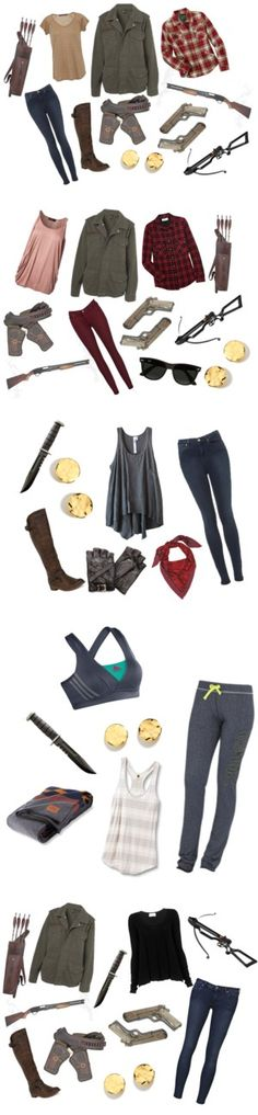 """The Walking Dead: Season 1"" by kittums ❤ liked on Polyvore"