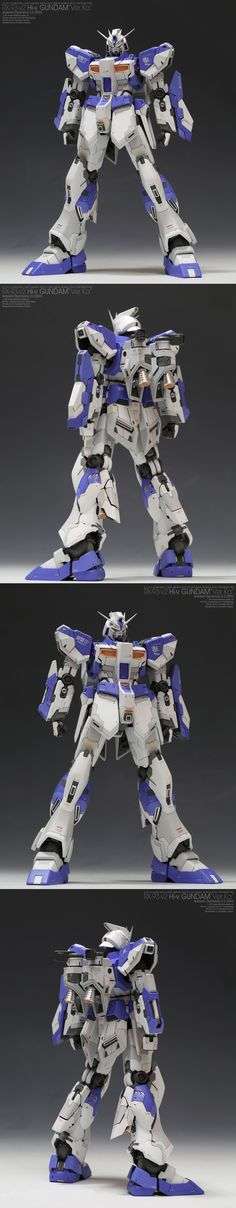 MG 1/100 Nu Gundam Ver.Ka remodeled in RX-93-Nu2 Hi Nu Gundam Ver.Ka: Masterpiece by Anaheim Factory. Full Photoreview. A Lot of Wallpaper Size Images [WIP too]