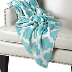 Mimosa Throw - Aquamarine from Z Gallerie $60