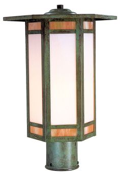 Arroyo Craftsman ETP-14 Etoile Craftsman Outdoor Post Light - 14.25 inches wide - ARR-ETP-14