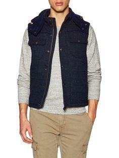 Detachable Hood Vest
