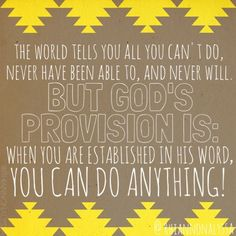 Bible quote God can do anything
