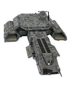 Z District » Blog Archive » Starships from Lego Bricks