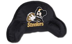 Use this Exclusive coupon code: PINFIVE to receive an additional 5% off the Pittsburgh Steelers Mickey Mouse Kids Bed Rest Pillow  at SportsFansPlus.com