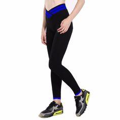 New style High Waist Stretched Women's Sports Pants Gym Clothes
