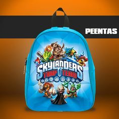 Skylanders Trap Team -  Design variations School Bag