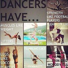 Nothing like dance ...