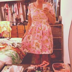 cute dress - naughty shorts