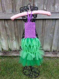 Princess Ariel Inspired mermaid tutu dress/costume set size newborn-5T Halloween, Birthday, Photo shoot #halloweentutus #handmade