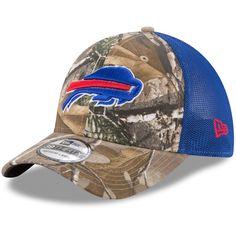3458c301 Men's Buffalo Bills New Era Realtree Camo/Royal Trucker 39THIRTY Flex Hat,  Your Price