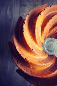 BundtCake de Naranja y Chocolate