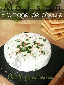 Brousse de chèvre Maison & fromage de chèvre aux fines herbes
