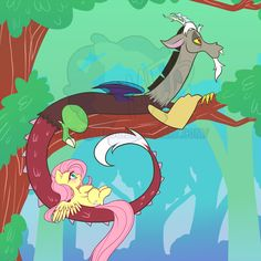 """My Little Pony """"Forever Young"""" It was so beautiful! I was crying so much at the end! My Little Pony Comic, My Little Pony Drawing, My Little Pony Pictures, Fluttershy, Discord, Mlp Characters, Cartoon As Anime, Little Poni, Mlp Fan Art"""