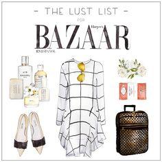 LUST LIST X HARPERS BAZAAR ESPANOL | Holiday Escape @harpersbazaarmx #harpersbazaarmx #thelustlist (tap for links)