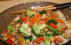 Quick Vegetable Stir-Fry