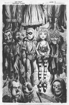 Gary Frank's awesome pencils for the Doomsday Clock cover. Jamie Hewlett, Frank Miller Art, Doomsday Clock, Pop Culture Art, Comic Books Art, Book Art, Dc Comics Art, Comics Universe, Art Studies