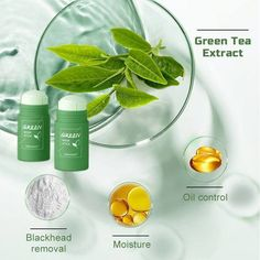 Best Pore Cleanser, Moisturizer, Green Tea Cleanse, Cleansing Mask, Green Tea Extract, Clean Face, Blackhead Remover, Wash Your Face, Oily Skin