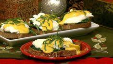 Daphne Oz's Eggs  Florentine with Spinach