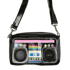 Bag and stereo speakers in one... genius!